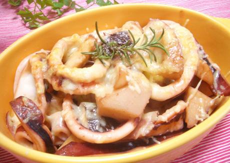 イカれんこんの醤油バター焼き【レシピコンテスト投稿レシピ】